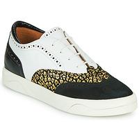 Schoenen Dames Lage sneakers Mam'Zelle ALIBI Wit / Goud