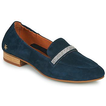 Schoenen Dames Mocassins Mam'Zelle ZAVON Blauw