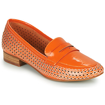 Schoenen Dames Mocassins Mam'Zelle ZIP Oranje