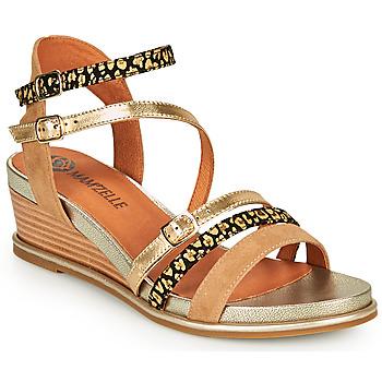 Schoenen Dames Sandalen / Open schoenen Mam'Zelle NAGA Beige / Oranje