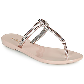 Schoenen Dames Leren slippers Melissa ASTRAL CHROME AD Roze