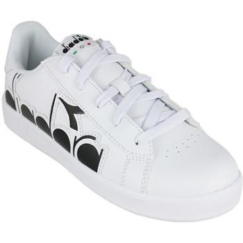 Schoenen Kinderen Lage sneakers Diadora game p bolder gs c0351 Zwart