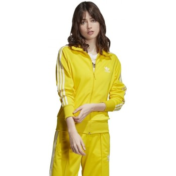 Textiel Dames Trainings jassen adidas Originals  Geel