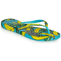 Schoenen Dames Teenslippers Havaianas SLIM SUMMER Blauw