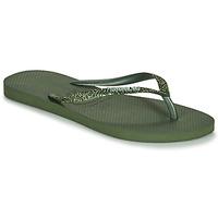 Schoenen Dames Teenslippers Havaianas SLIM GLITTER II Groen