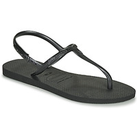 Schoenen Dames Sandalen / Open schoenen Havaianas TWIST Zwart
