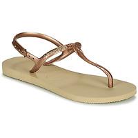 Schoenen Dames Sandalen / Open schoenen Havaianas TWIST Beige