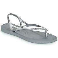 Schoenen Dames Sandalen / Open schoenen Havaianas SUNNY II Zilver