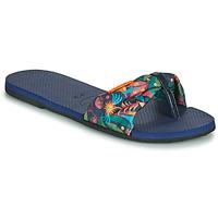 Schoenen Dames Teenslippers Havaianas YOU SAINT TROPEZ Blauw
