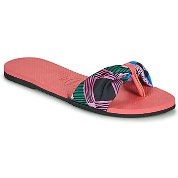Schoenen Dames Teenslippers Havaianas YOU SAINT TROPEZ Roze