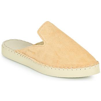 Schoenen Dames Leren slippers Havaianas ESPADRILLE MULE LOAFTER FLATFORM Beige