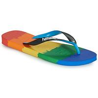 Schoenen Teenslippers Havaianas TOP LOGOMANIA MULTICOLOR Multicolour