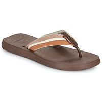 Schoenen Heren Teenslippers Havaianas NEW URBAN WAY Zwart / Bruin