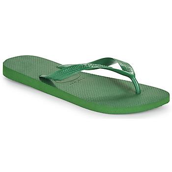 Schoenen Teenslippers Havaianas TOP Groen