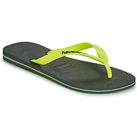 Schoenen Heren Teenslippers Havaianas BRASIL LOGO Grijs