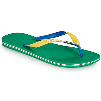 Schoenen Teenslippers Havaianas BRASIL MIX Groen