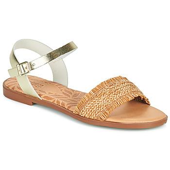 Schoenen Dames Sandalen / Open schoenen MTNG 51010 Bruin