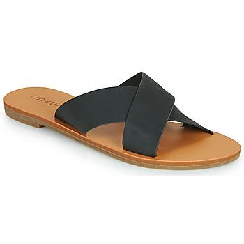Schoenen Dames Leren slippers Rip Curl BLUEYS Zwart
