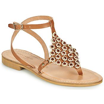 Schoenen Dames Sandalen / Open schoenen Tosca Blu PERLA Camel