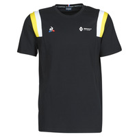 Textiel Heren T-shirts korte mouwen Le Coq Sportif RENAULT FANWEAR 20 Tee SS M Zwart