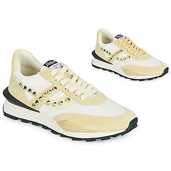 Schoenen Dames Lage sneakers Ash SPIDER STUDS Wit / Beige
