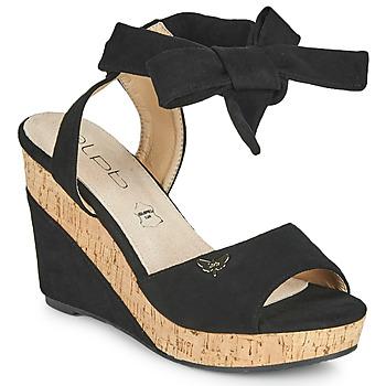 Schoenen Dames Sandalen / Open schoenen Les Petites Bombes BELA Zwart