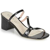Schoenen Dames Leren slippers Les Petites Bombes BERTHINE Zwart