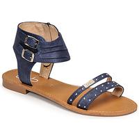 Schoenen Dames Sandalen / Open schoenen Les Petites Bombes BELIZE Blauw