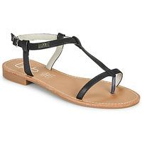 Schoenen Dames Sandalen / Open schoenen Les Petites Bombes BULLE Zwart