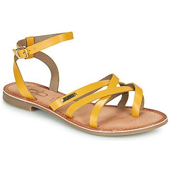 Schoenen Dames Sandalen / Open schoenen Les Petites Bombes BERYLE Geel