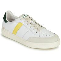 Schoenen Heren Lage sneakers Serafini WIMBLEDON Wit / Groen / Geel