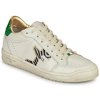 Schoenen Dames Lage sneakers Serafini SAN DIEGO Wit / Groen