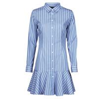 Textiel Dames Korte jurken Lauren Ralph Lauren TRIELLA Blauw / Wit