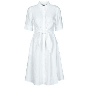 Textiel Dames Korte jurken Lauren Ralph Lauren WAKANA Wit