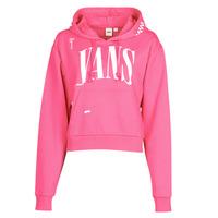 Textiel Dames Sweaters / Sweatshirts Vans WM KAYE CROP HOODIE Cabaret