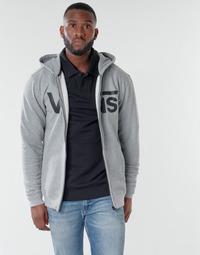 Textiel Heren Sweaters / Sweatshirts Vans VANS CLASSIC ZIP HOODIE II Grijs / Zwart