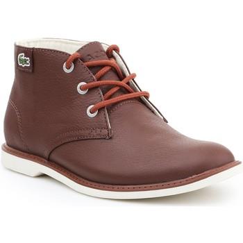 Schoenen Dames Laarzen Lacoste Sherbrook HI SB SPJ 7-30SPJ101177T brown