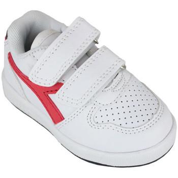 Schoenen Kinderen Lage sneakers Diadora playground td c0673 Rood