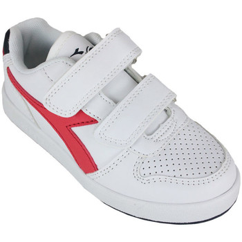 Schoenen Kinderen Lage sneakers Diadora playground ps c0673 Rood