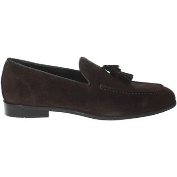 Schoenen Heren Mocassins Gino Tagli A104NP Brown