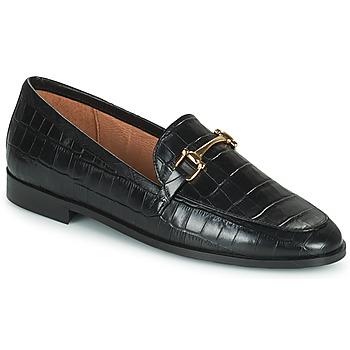 Schoenen Dames Mocassins Minelli AMINATA Zwart