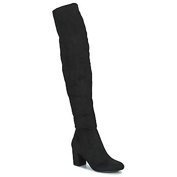 Schoenen Dames Hoge laarzen Minelli HALINA Zwart