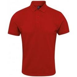 Textiel Heren Polo's korte mouwen Premier PR630 Rood