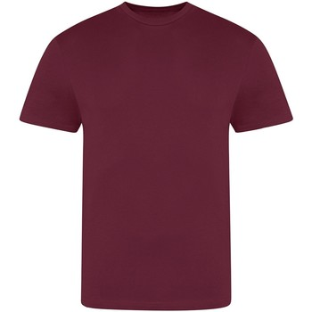 Textiel Heren T-shirts korte mouwen Awdis JT100 Bourgondië