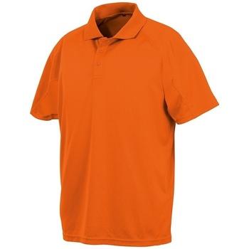 Textiel Polo's korte mouwen Spiro SR288 Flo Oranje