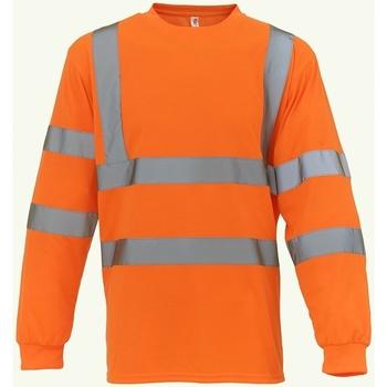 Textiel Sweaters / Sweatshirts Yoko YK012 Oranje