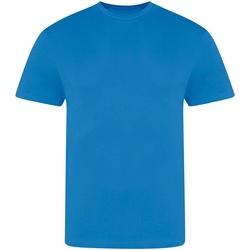 Textiel Heren T-shirts korte mouwen Awdis JT100 Azuurblauw