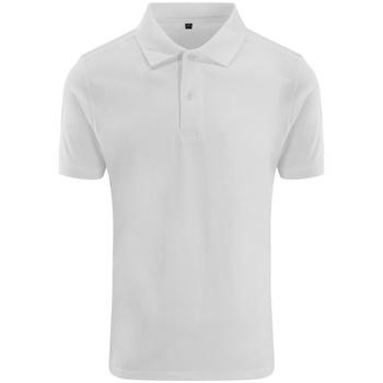 Textiel Heren Polo's korte mouwen Awdis JP002 Wit