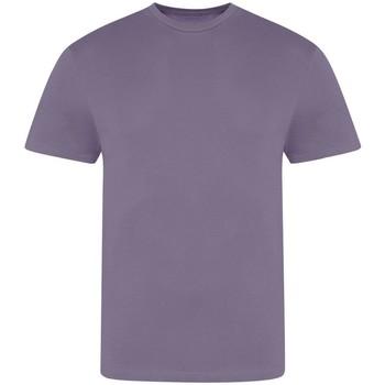 Textiel Heren T-shirts korte mouwen Awdis JT100 Schemering Paars