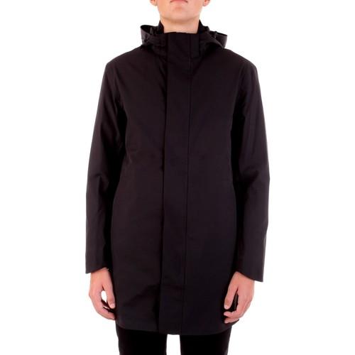 Textiel Heren Parka jassen Selected 16074011 Nero